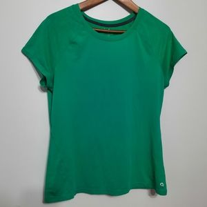 2 for $25 Hyba by Reitmans Teal Exercise Tee